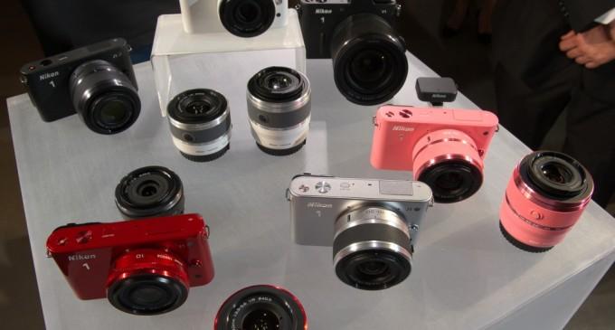 Nikon J1 si V1 au fost prezentate!