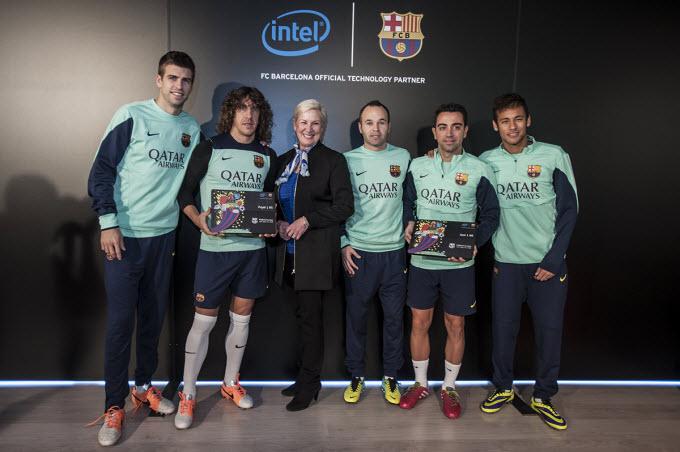 FC Barcelona-Intel