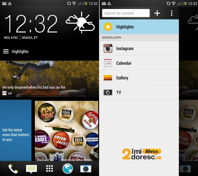 HTC One Max screenshot