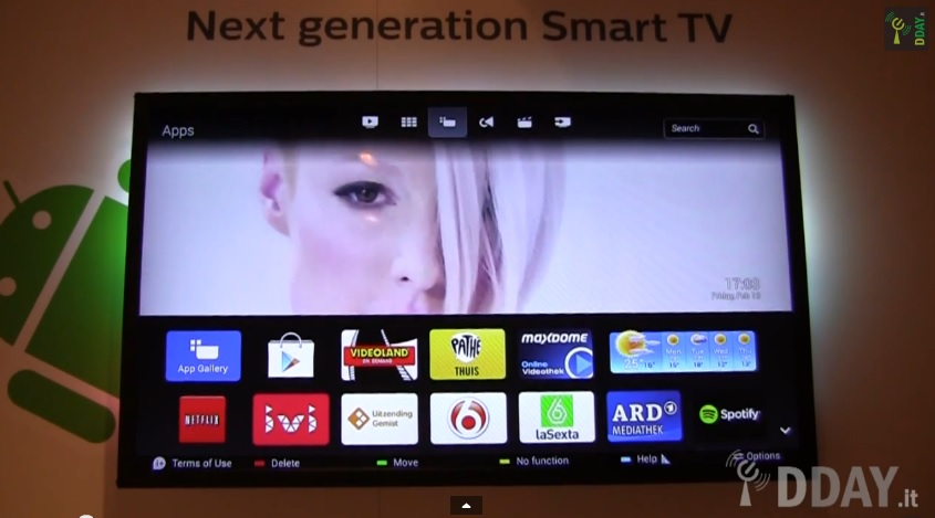 Android Philips Smart TV