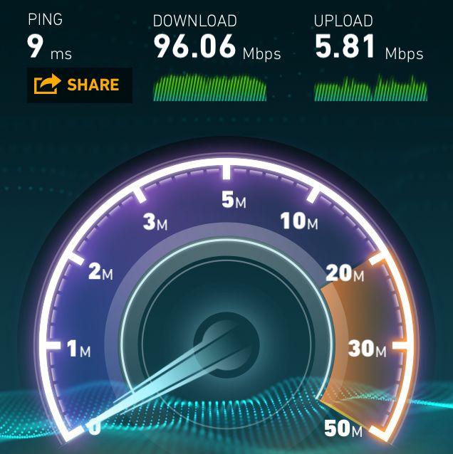 speedtest iphone 5s