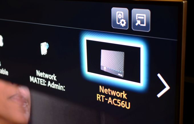Samsung DLNA ASUS router