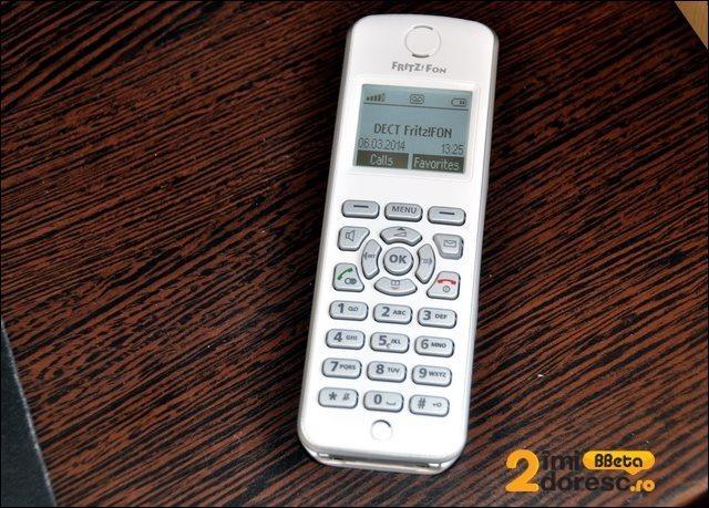 FRITZBox 7490 review Fritzfon M2