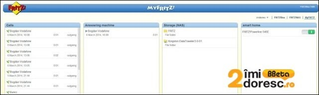 FRITZBox 7490 review MyFritz