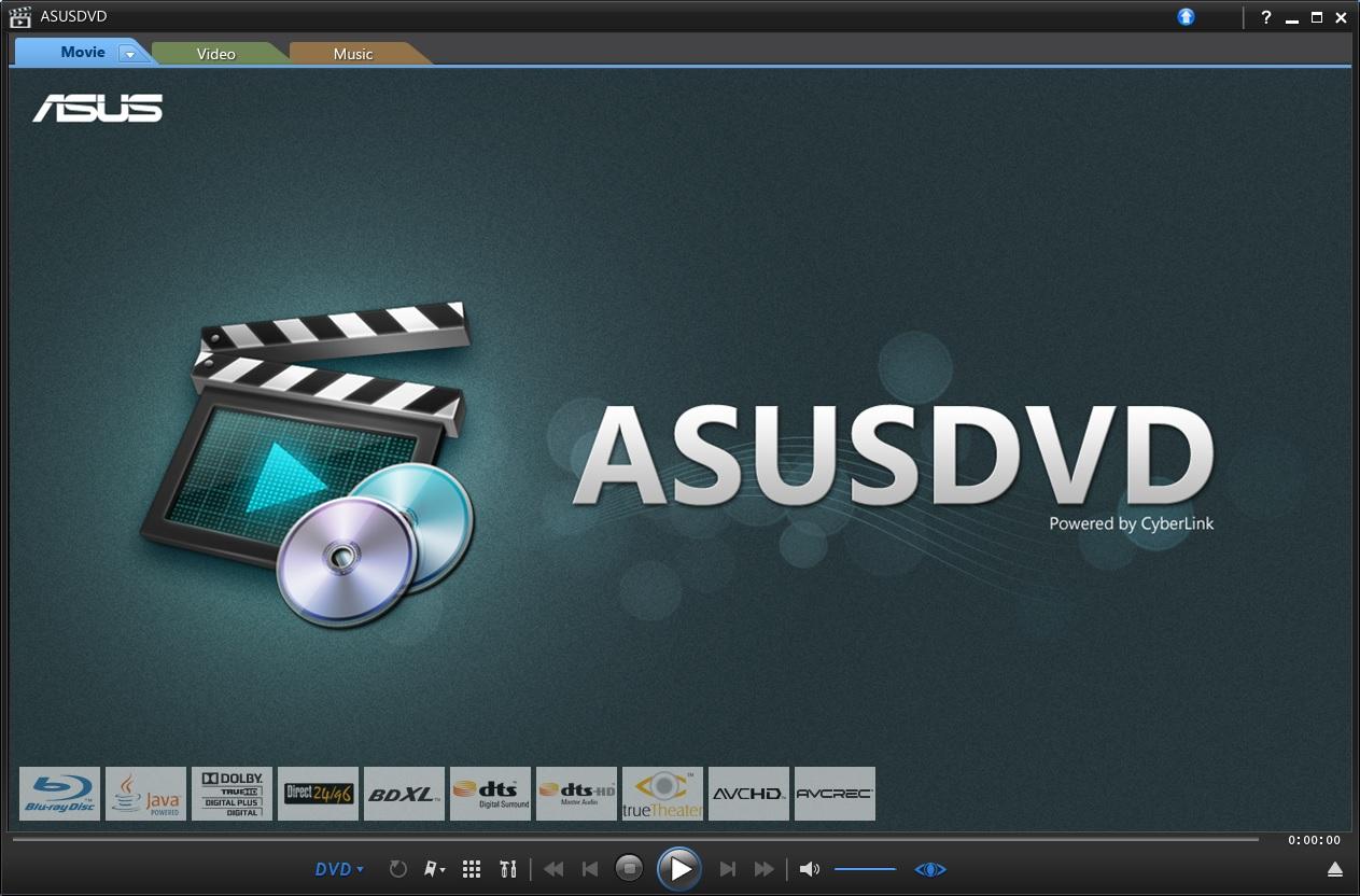 ASUS DVD Player
