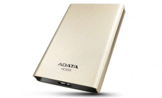 Choice HC500 – Hard disk extern de la Adata, cu protectie antisoc