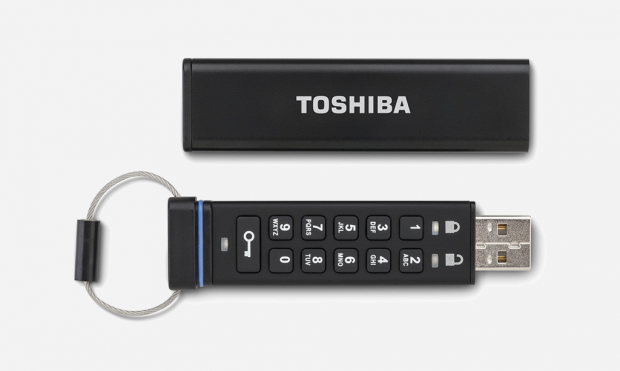 Toshiba Encrypted USB Flash Drive