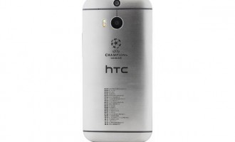 HTC One M8, in editie UEFA Champions League