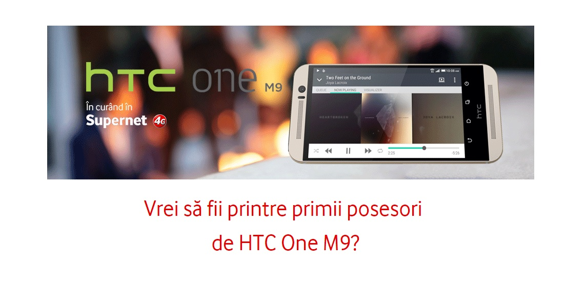 HTC One M9 Vodafone Romania