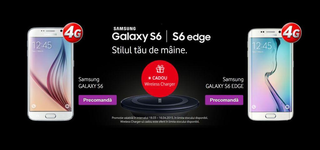 Samsung Galaxy S6 la Vodafone