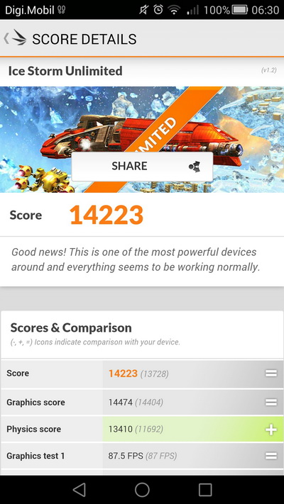Huawei Ascend Mate 7 benchmark 5