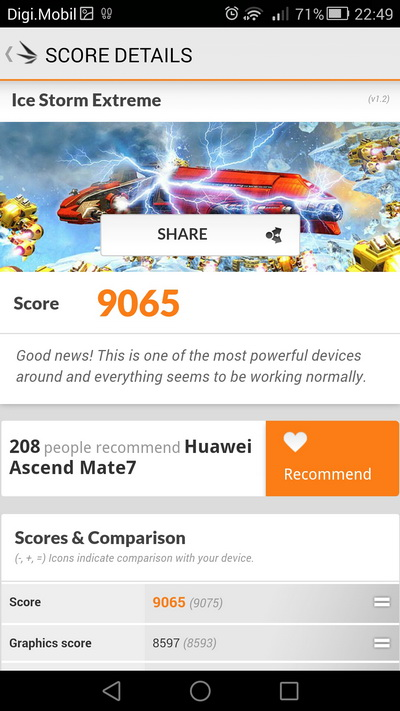 Huawei Ascend Mate 7 benchmark 6