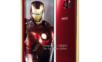 Samsung Galaxy S6 si S6 Edge in editii Iron Man, confirmate