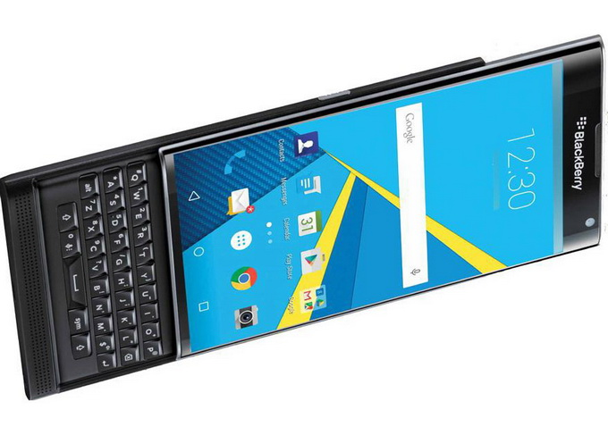 Blackberry cu Android Priv