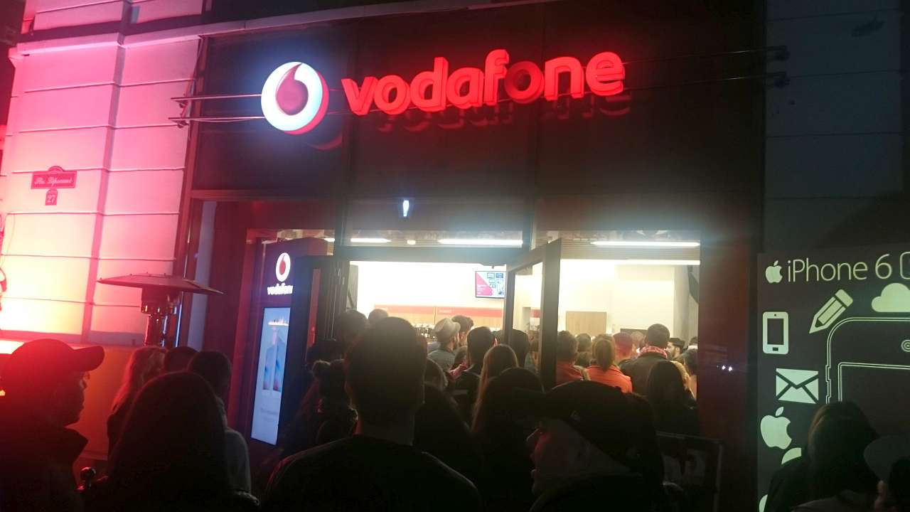 Lansare iPhone 6S la Vodafone