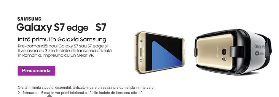 Precomanda Samsung Galaxy S7