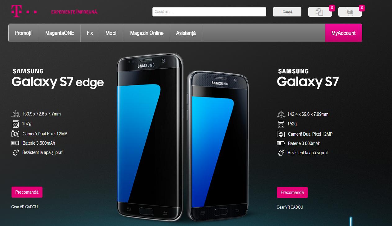 Samsung Galaxy S7 la Telekom