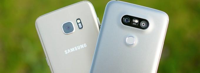 LG G5 versus Samsung Galaxy S7 Edge – Care face poze mai frumoase?