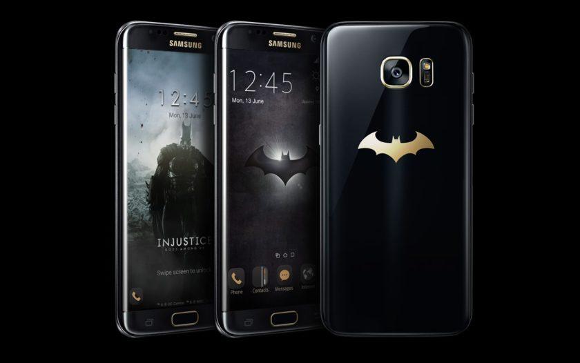 Samsung Galaxy S7 Edge Batman