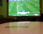Benq – Cum se vede un meci de fotbal mai bine? Pe un proiector, bineînțeles.