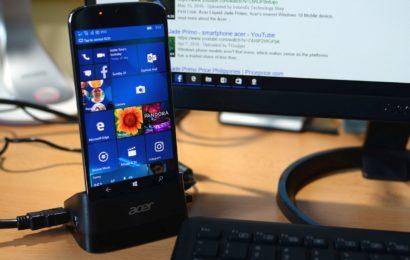 Review Acer Liquid Jade Primo – Telefonul și tehnologia Continuum (A doua parte)