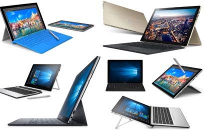 Tablete cu Windows, pe care poți lucra cu adevărat