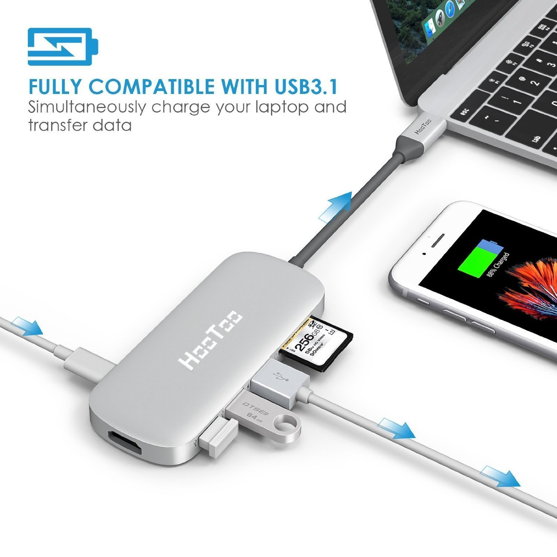 Adaptor USB-C HooToo