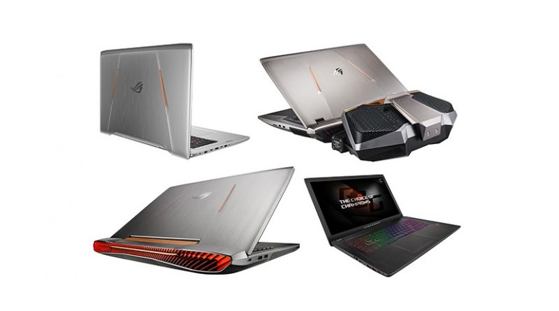 Laptopuri de gaming ASUS ROG