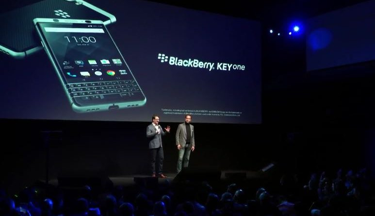 Eveniment BlackBerry MWC 2017