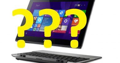 Tabletele cu sistem de operare Windows nu sunt folosite fără tastatură