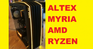 Altex Myria – Performanțe de top și un look incredibil. PC cu AMD Ryzen 7 1800x și placă grafică Nvidia 1080