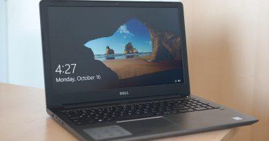 Dell Vostro 15 5568 Review – Laptop pentru corporatiști, cu ecran mare și o fișă tehnică performantă