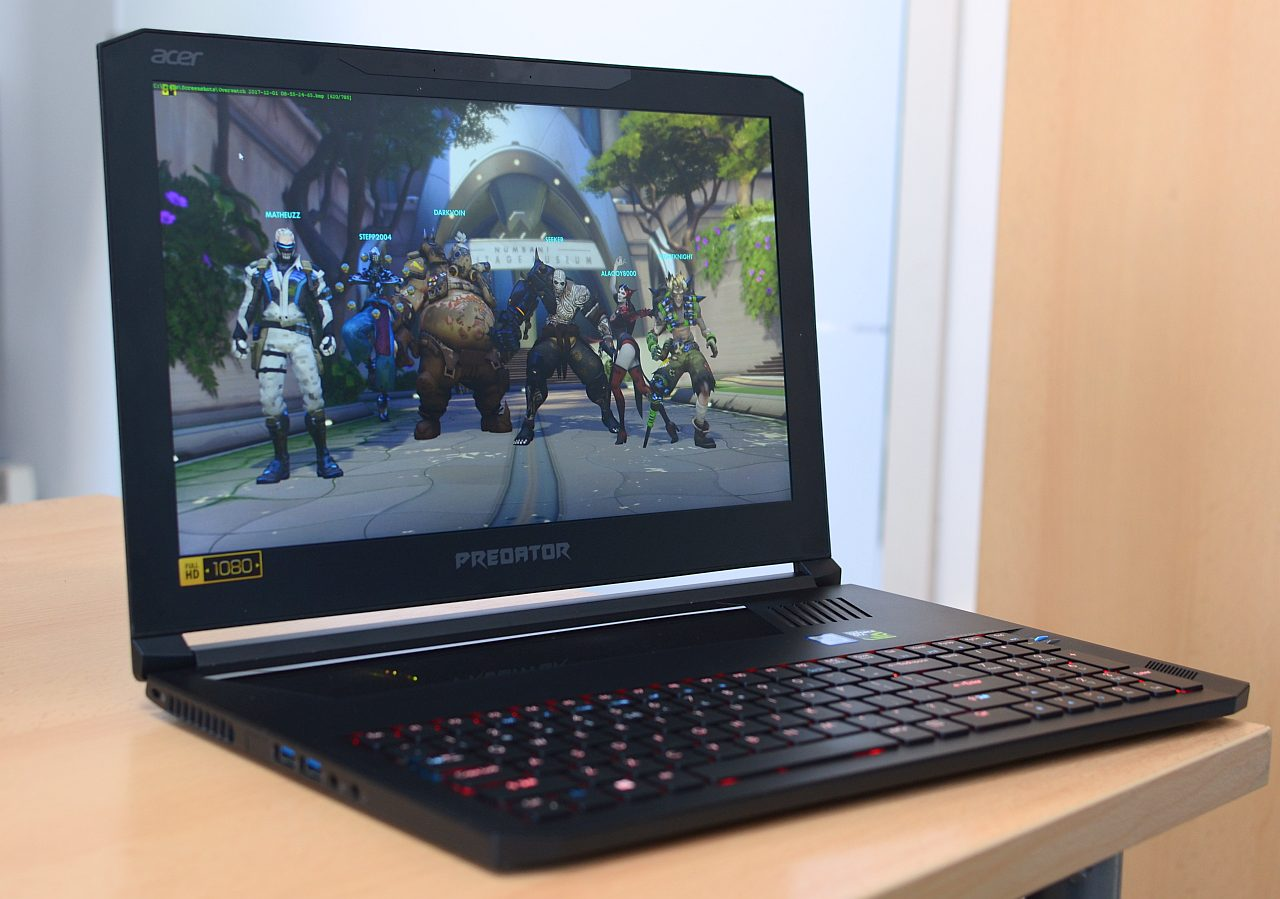 Laptop de gaming Acer Triton 700